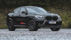 Der BMW X6 M Competition im Autohaus Huber