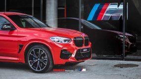 Der BMW X4 M Competition im Autohaus Huber