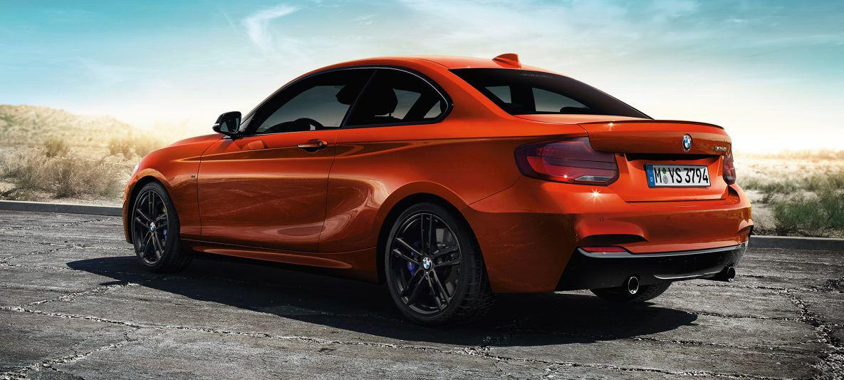 BMW 2er Coupé, Dreiviertel Heckschuss