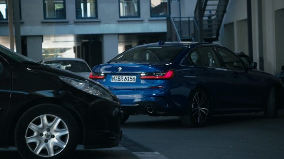 BMW 3er Limousine Heck