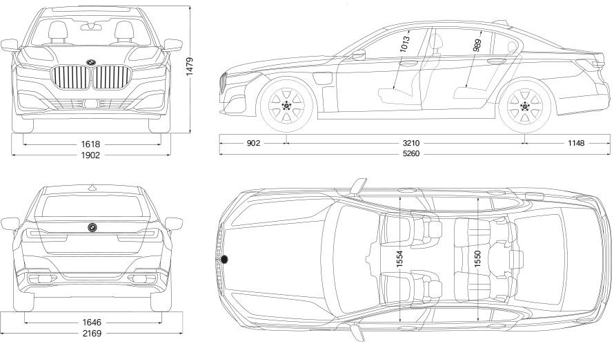 Technische Daten BMW 7er Limousine