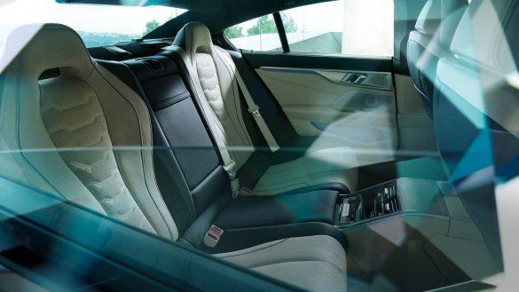BMW 8er Gran Coupé Mittelkonsole hinten
