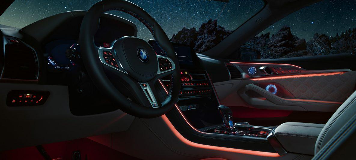 BMW M8 Competition Gran Coupé F93 2020 Cockpit