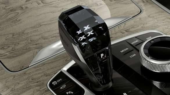 BMW X7 Glasapplikation 'CraftedClarity'