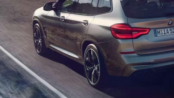 BMW X3 M M spezifisches Fahrwerk