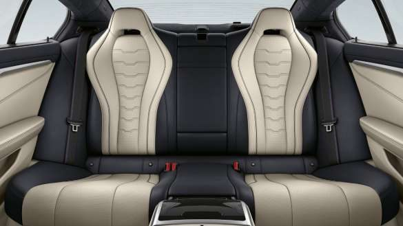 BMW 8er Gran Coupé Fondsitzbank