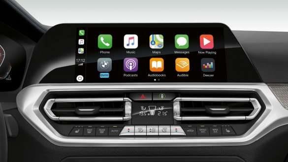 BMW 3er Limousine Apple Car Play